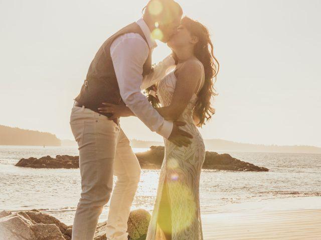 Lucas and Silvana's wedding in Tofino, British Columbia 35