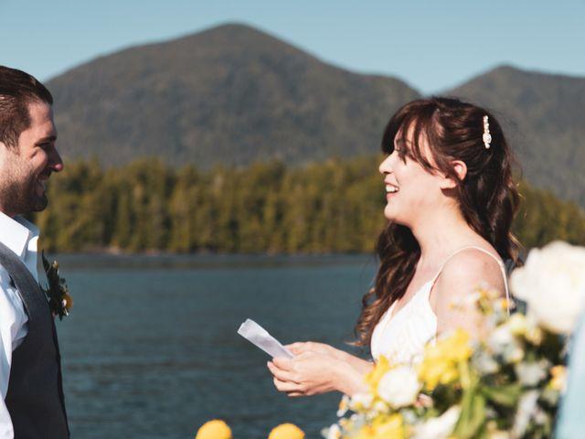 Lucas and Silvana's wedding in Tofino, British Columbia 36