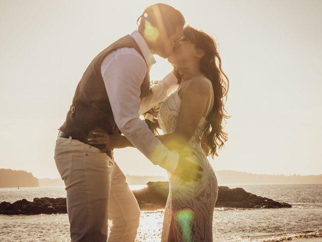 Lucas and Silvana's wedding in Tofino, British Columbia 2