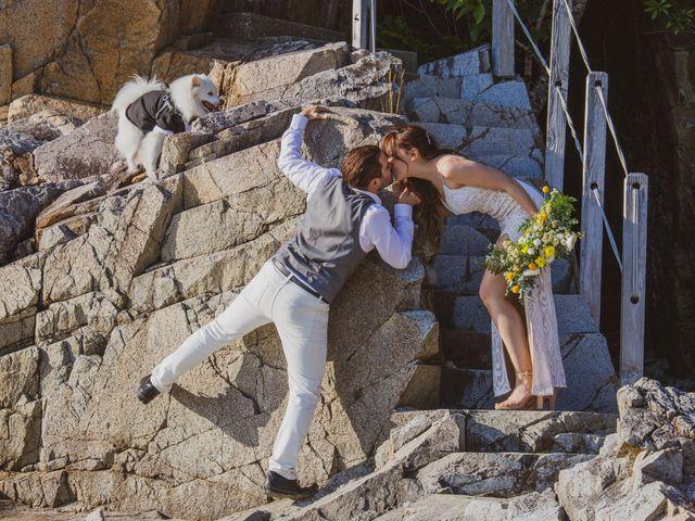 Lucas and Silvana's wedding in Tofino, British Columbia 44