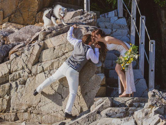 Lucas and Silvana's wedding in Tofino, British Columbia 46