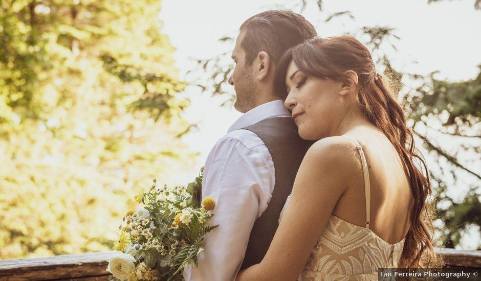 Lucas and Silvana's wedding in Tofino, British Columbia