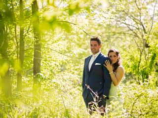 The wedding of Chantelle and Mark