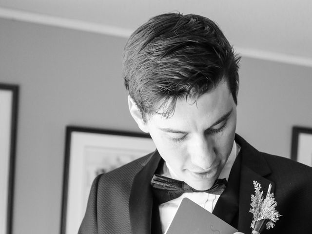 Andrew and Megan's wedding in Kingsey Falls, Quebec 14