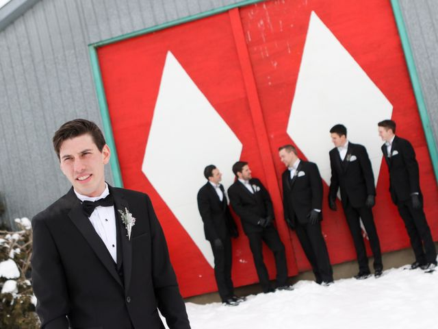 Andrew and Megan's wedding in Kingsey Falls, Quebec 16