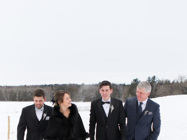 Andrew and Megan's wedding in Kingsey Falls, Quebec 19