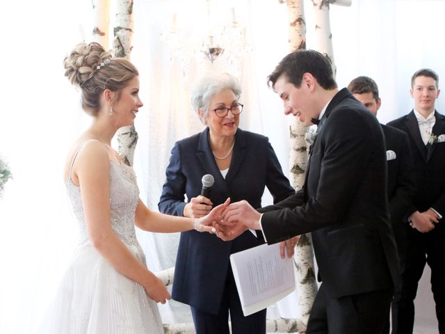Andrew and Megan's wedding in Kingsey Falls, Quebec 33