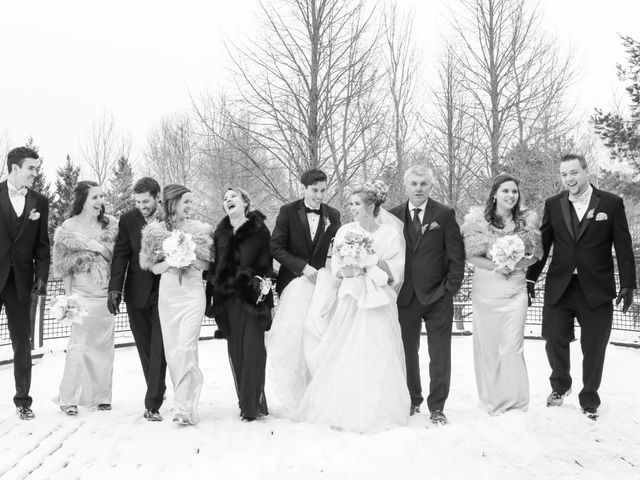Andrew and Megan's wedding in Kingsey Falls, Quebec 37