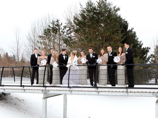 Andrew and Megan's wedding in Kingsey Falls, Quebec 2