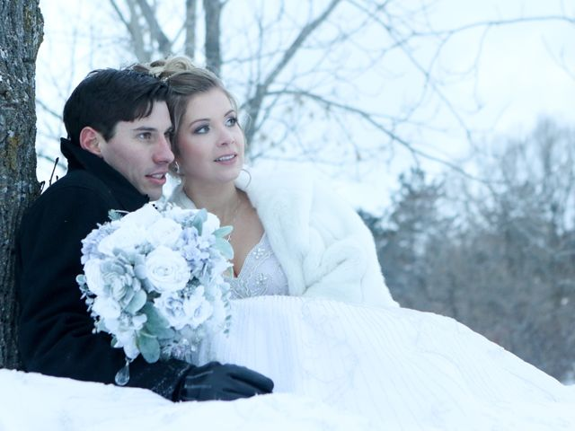 Andrew and Megan's wedding in Kingsey Falls, Quebec 49