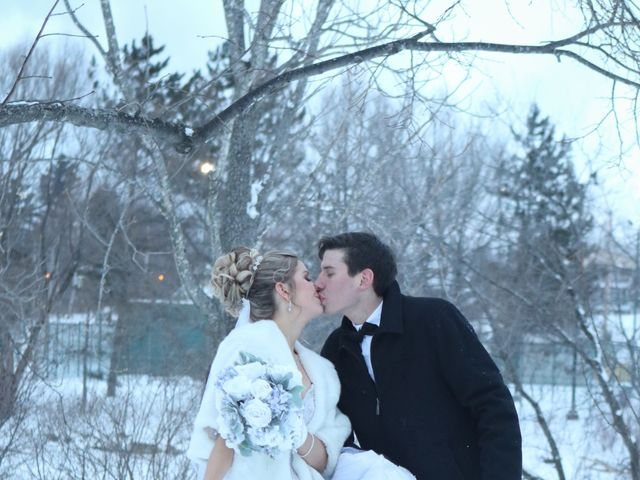 Andrew and Megan's wedding in Kingsey Falls, Quebec 52