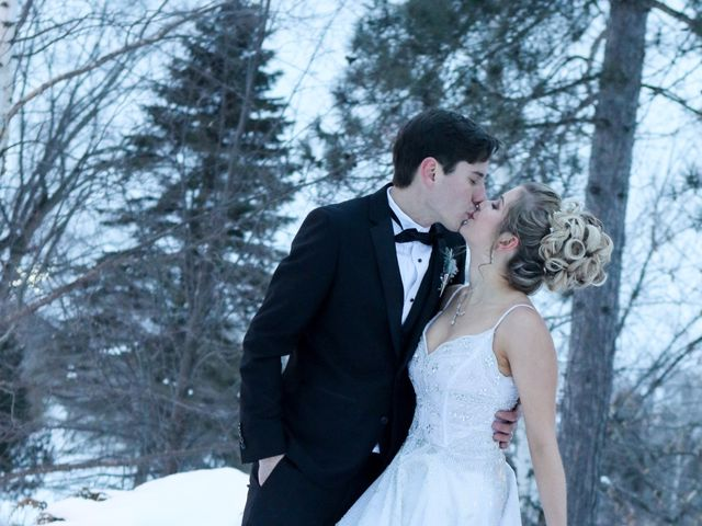Andrew and Megan's wedding in Kingsey Falls, Quebec 61