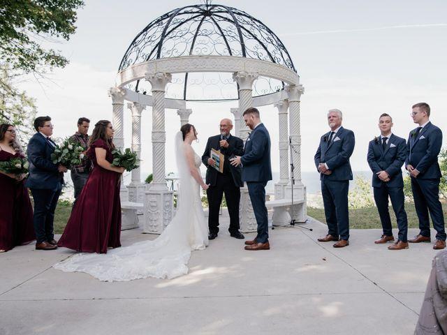 AJ Merrick and Noelle Cyr's wedding in Grimsby, Ontario 2