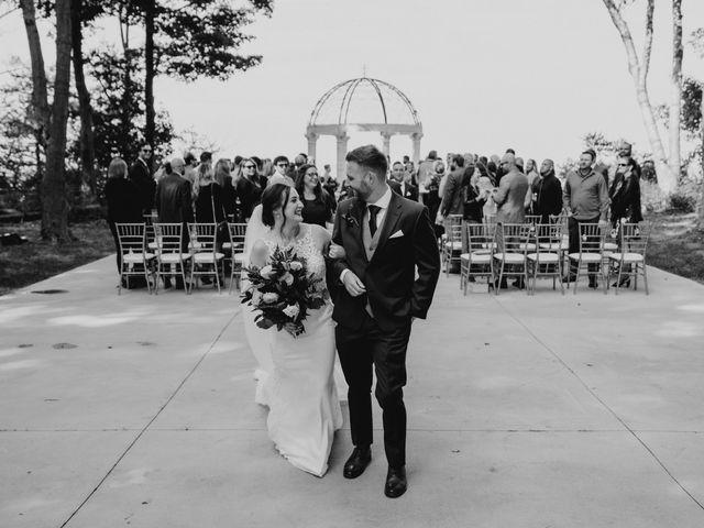 AJ Merrick and Noelle Cyr's wedding in Grimsby, Ontario 3