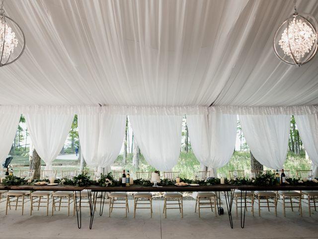 AJ Merrick and Noelle Cyr's wedding in Grimsby, Ontario 5