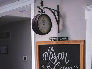 The wedding of Allison and Cameron 1