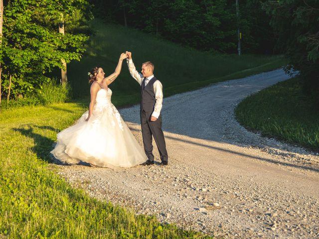 The wedding of Allison and Cameron