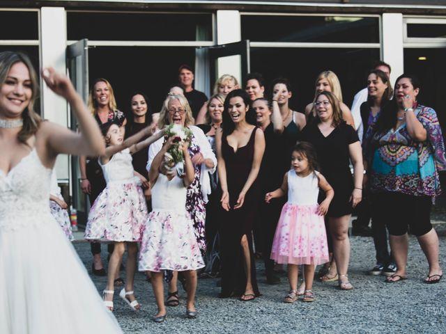 Jessie and Chey's wedding in Ucluelet, British Columbia 1