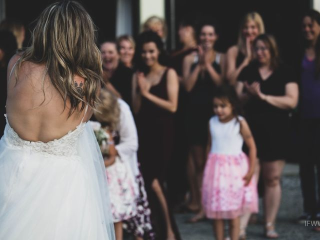 Jessie and Chey's wedding in Ucluelet, British Columbia 13