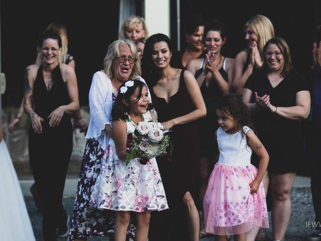 Jessie and Chey's wedding in Ucluelet, British Columbia 2