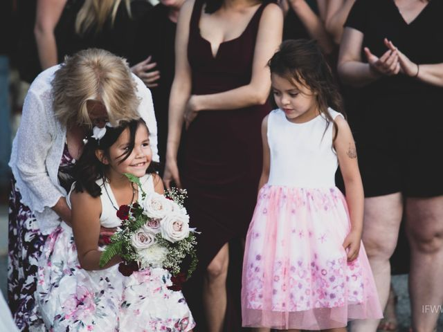Jessie and Chey's wedding in Ucluelet, British Columbia 14