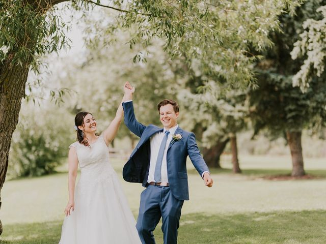 The wedding of Ruth and Chris