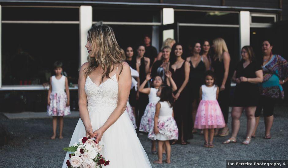 Jessie and Chey's wedding in Ucluelet, British Columbia
