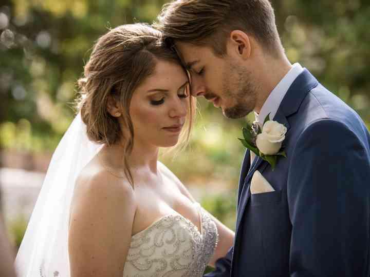 The wedding of Caroline and Samuel