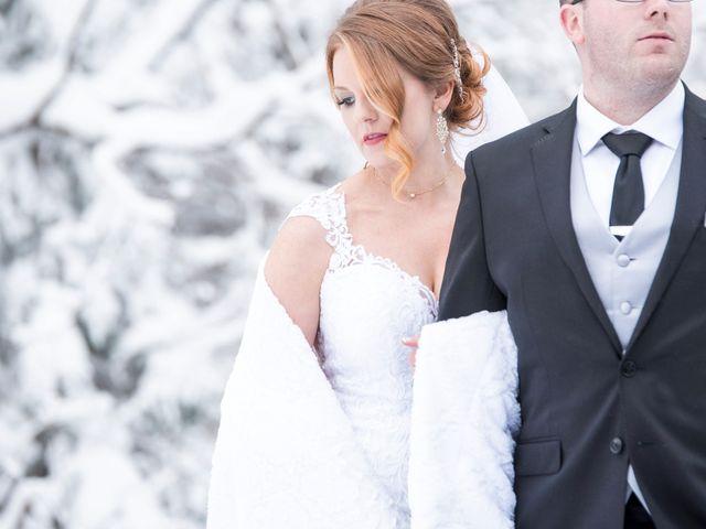 Aaron and Peggy's wedding in Sydney, Nova Scotia 1