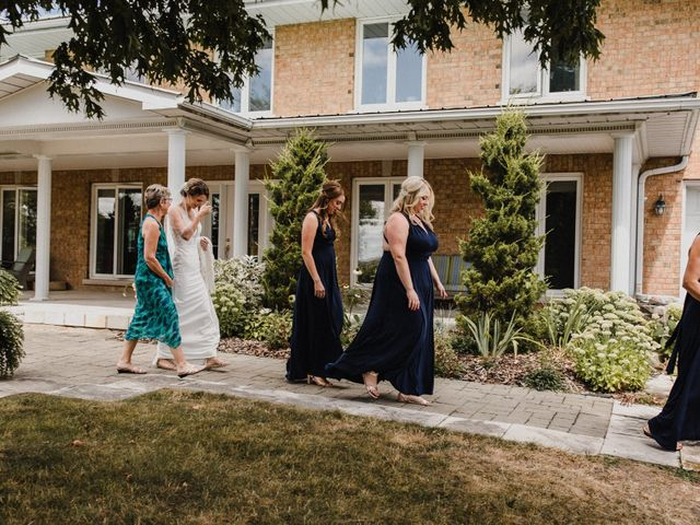 Romelo and Ali's wedding in Bethany, Ontario 8