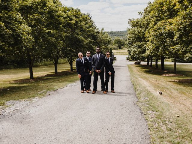 Romelo and Ali's wedding in Bethany, Ontario 9