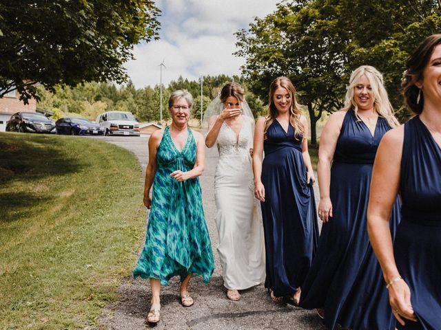 Romelo and Ali's wedding in Bethany, Ontario 10