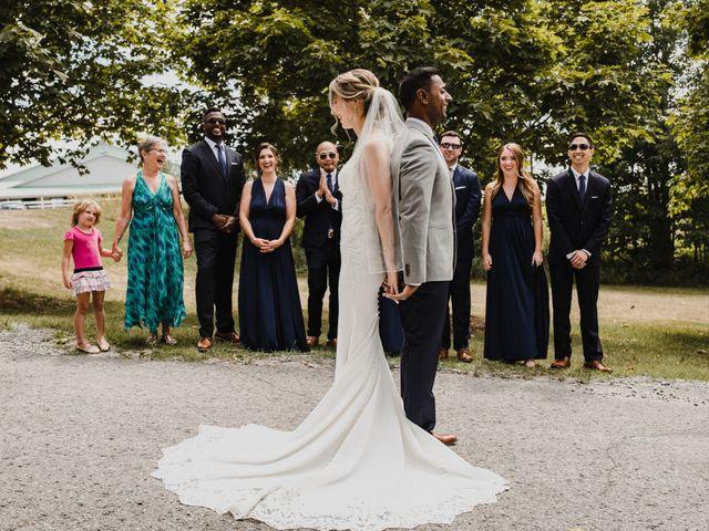 Romelo and Ali's wedding in Bethany, Ontario 11
