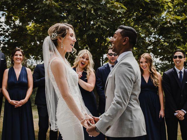 Romelo and Ali's wedding in Bethany, Ontario 12