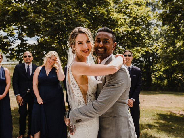 Romelo and Ali's wedding in Bethany, Ontario 13
