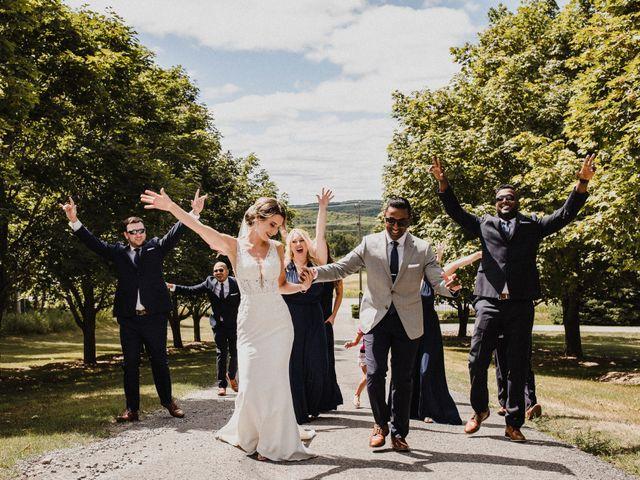 Romelo and Ali's wedding in Bethany, Ontario 14