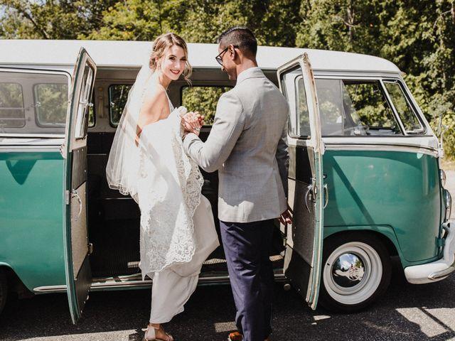 Romelo and Ali's wedding in Bethany, Ontario 16