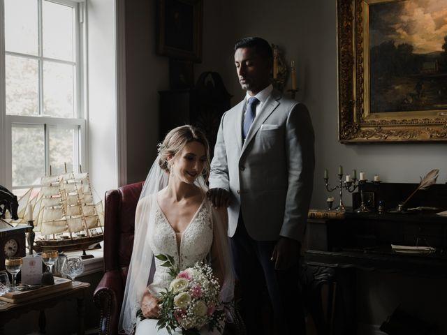 Romelo and Ali's wedding in Bethany, Ontario 22
