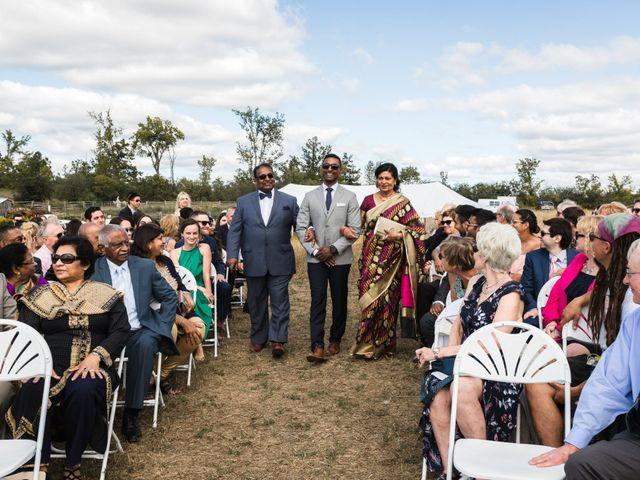 Romelo and Ali's wedding in Bethany, Ontario 27