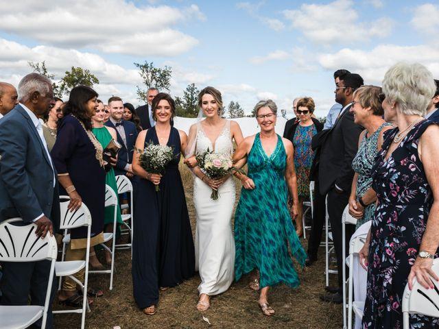 Romelo and Ali's wedding in Bethany, Ontario 28