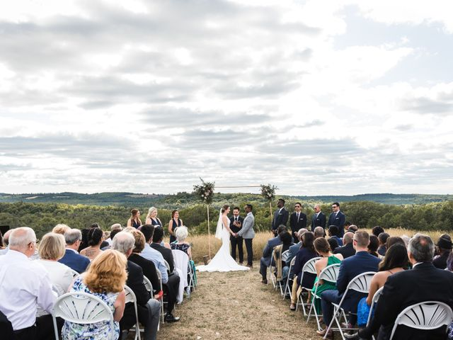 Romelo and Ali's wedding in Bethany, Ontario 29