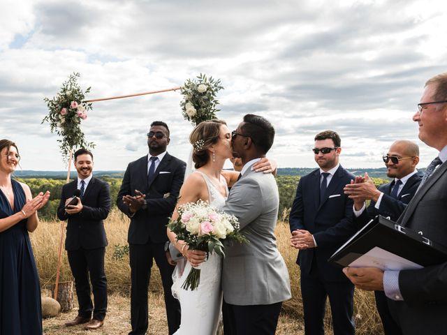 Romelo and Ali's wedding in Bethany, Ontario 34