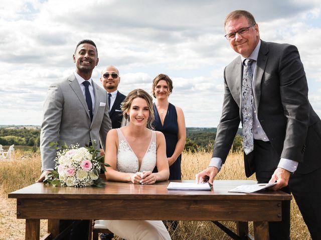 Romelo and Ali's wedding in Bethany, Ontario 36
