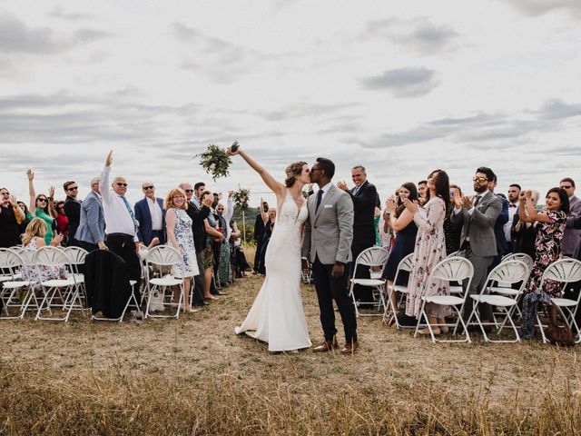 Romelo and Ali's wedding in Bethany, Ontario 38