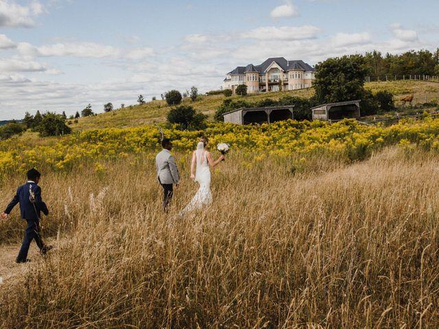 Romelo and Ali's wedding in Bethany, Ontario 39