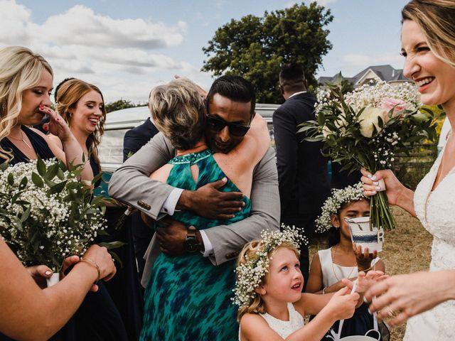 Romelo and Ali's wedding in Bethany, Ontario 42