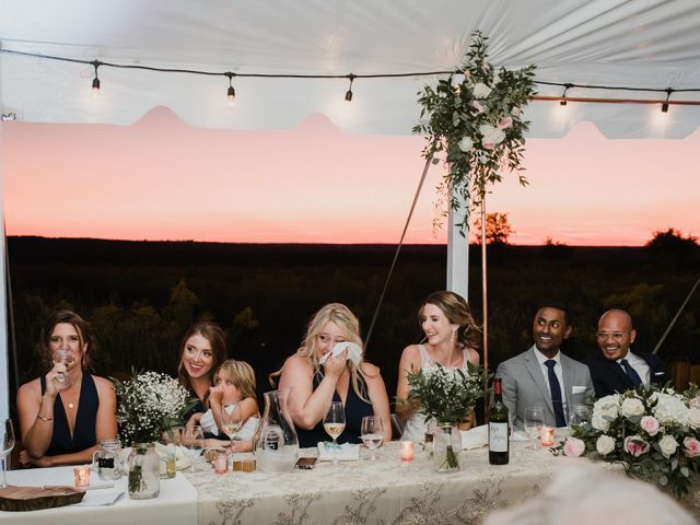 Romelo and Ali's wedding in Bethany, Ontario 55