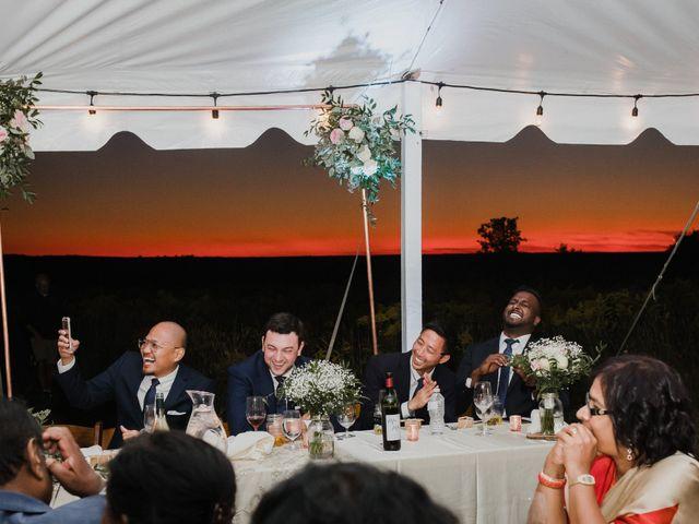 Romelo and Ali's wedding in Bethany, Ontario 57