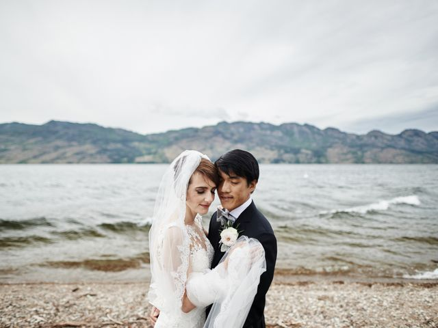 Justin and Heather's wedding in West Kelowna, British Columbia 1