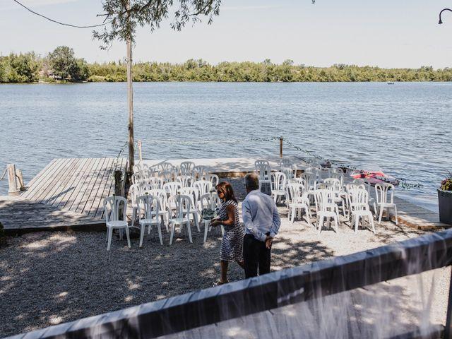 Kyle and Serena's wedding in Roseneath, Ontario 5